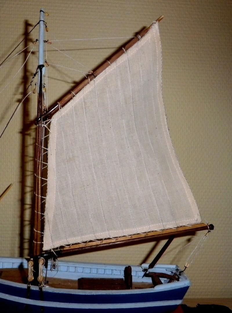 """Pas à pas d'une maquette terminée : """"Le Bon Retour"""" Coquiller de la rade de Brest. Kit AL au 1/50ème Imgp5168"""