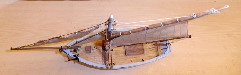 """Pas à pas d'une maquette terminée : """"Le Bon Retour"""" Coquiller de la rade de Brest. Kit AL au 1/50ème Imgp5178"""