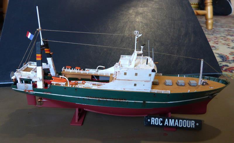 "Chalutier ""Roc Amadour"" - 1/200. Rocam112"
