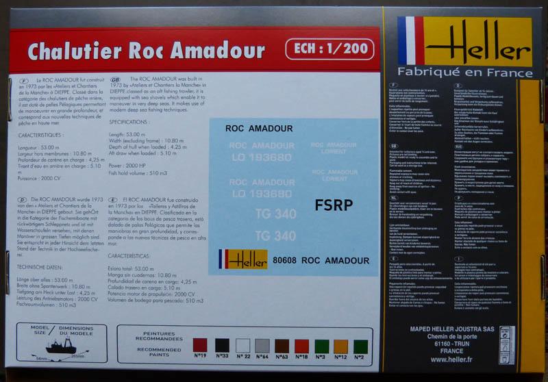Chalutier Roc Amadour - 1/200 Rocama11