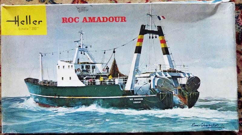 Chalutier Roc Amadour - 1/200 Rocama22