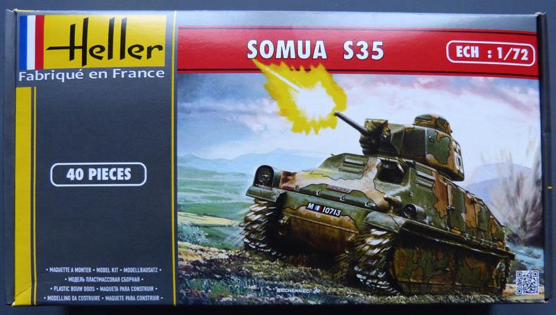 Char SOMUA S35 1/72ème Réf 79875 Notice Somuas10