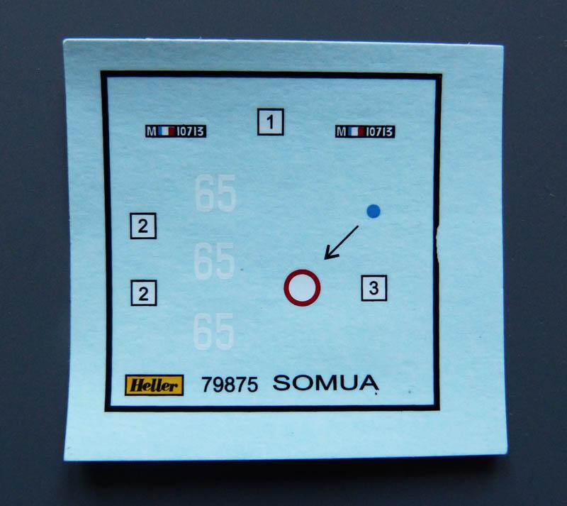 [HELLER] Char Somua S35 - 1/72 Somuas15