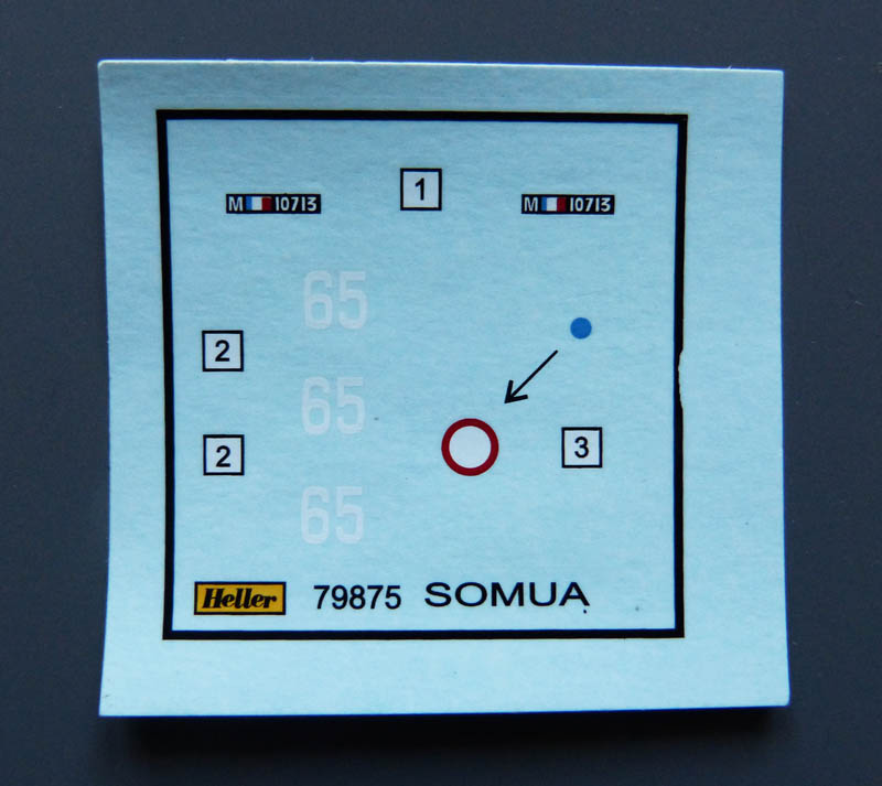 Char Somua S35 - 1/72 Somuas15