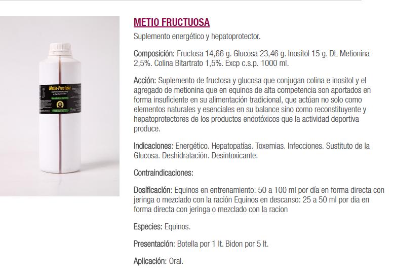 FRUCTOSA Y GLUCOSA $ 20.000 LITRO Metio_10