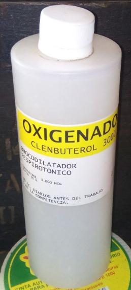 OXIGENADOR Y RESPIRATORIO $ 25.000.-  ENVASE DE  500 ML Oxigin10