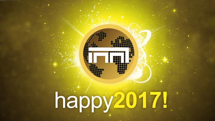 bonne année et meilleurs voeux 2017 Happy210