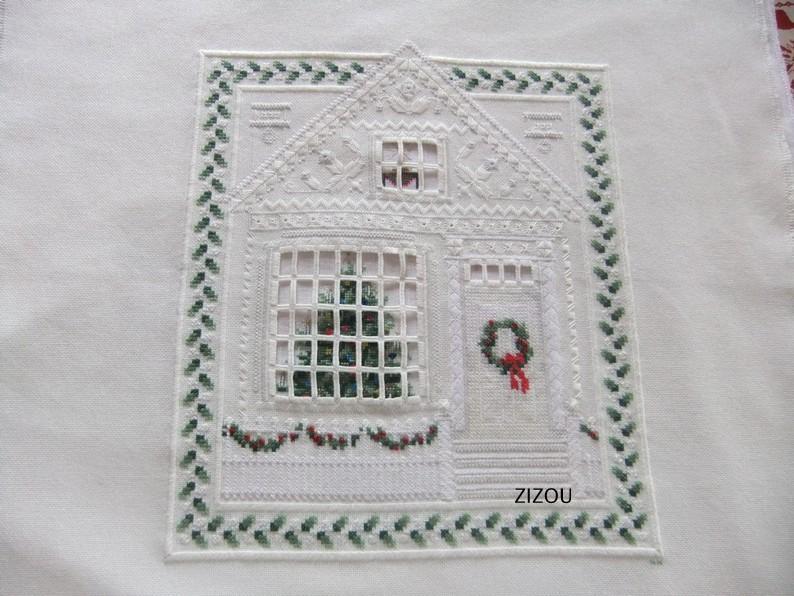 Hardanger Christmas House, P. Andrle pour Bucilla Christ11