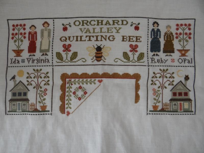 Orchard Valley Quilting Bee de LHN suite le 30 Octobre - Page 32 Dsc02110