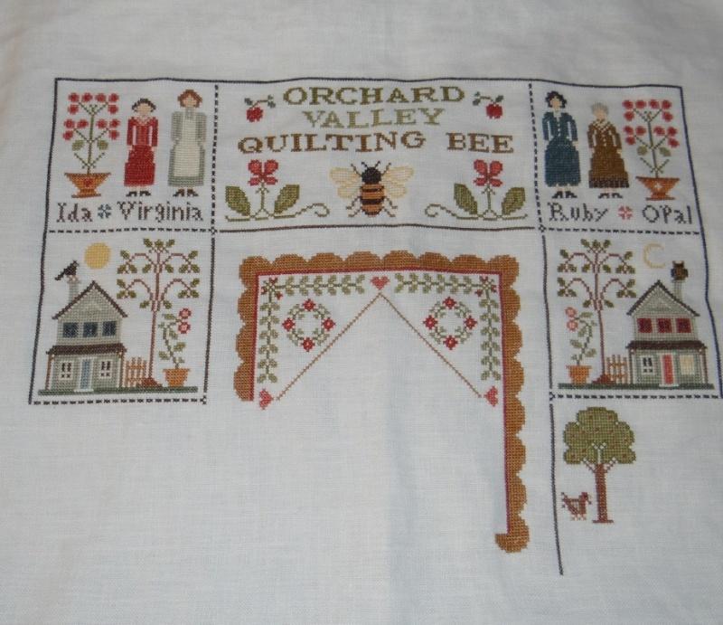 Orchard Valley Quilting Bee de LHN suite le 30 Octobre - Page 33 Dsc02412