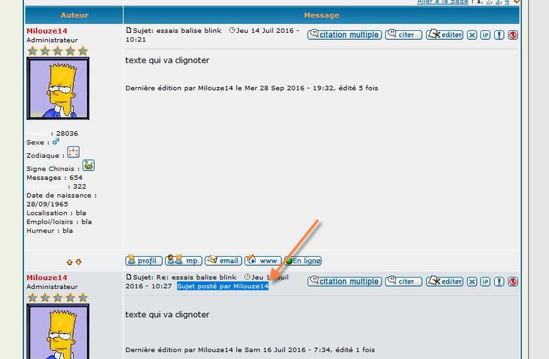 [PHPBB2] Afficher le posteur du sujet dans les réponses 115