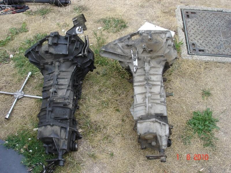 Huile boite de vitesse Turbo D / Remplacement boite de vitesse, Dsc04110