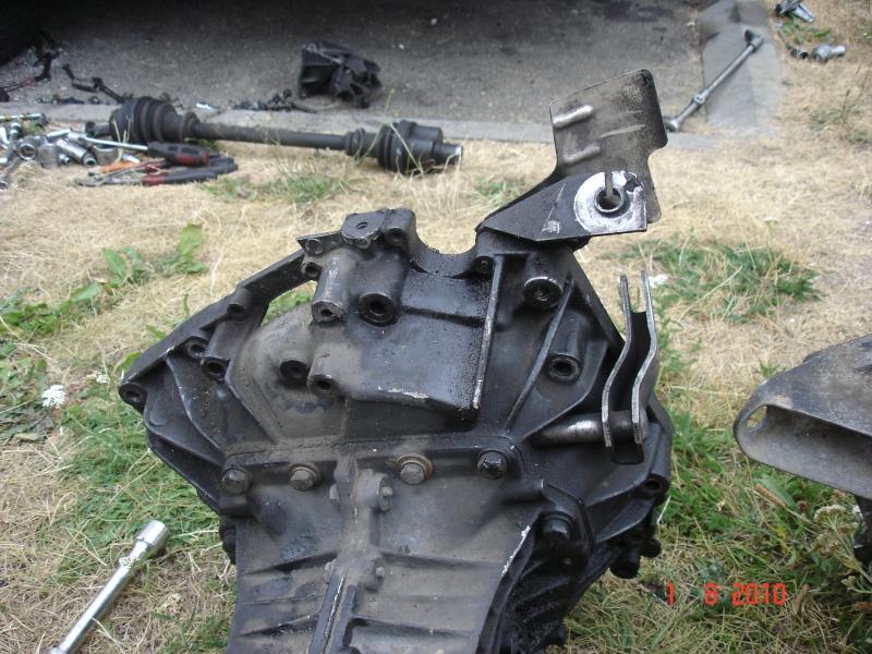 Huile boite de vitesse Turbo D / Remplacement boite de vitesse, Dsc04111