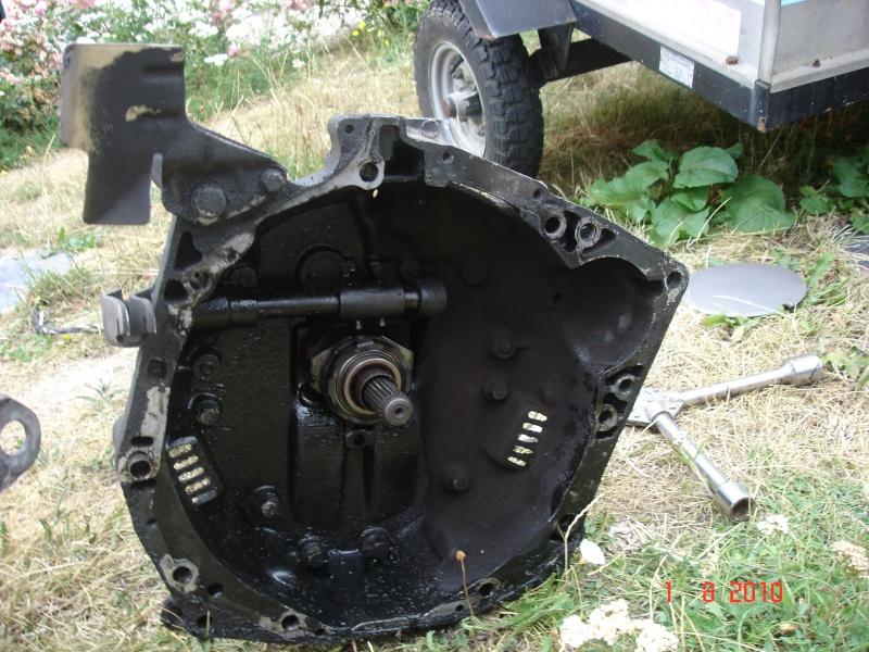 Huile boite de vitesse Turbo D / Remplacement boite de vitesse, Dsc04212