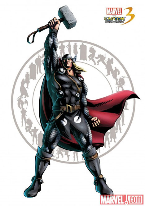 Marvel vs. Capcom 3: Fate of Two Worlds Thor-a10