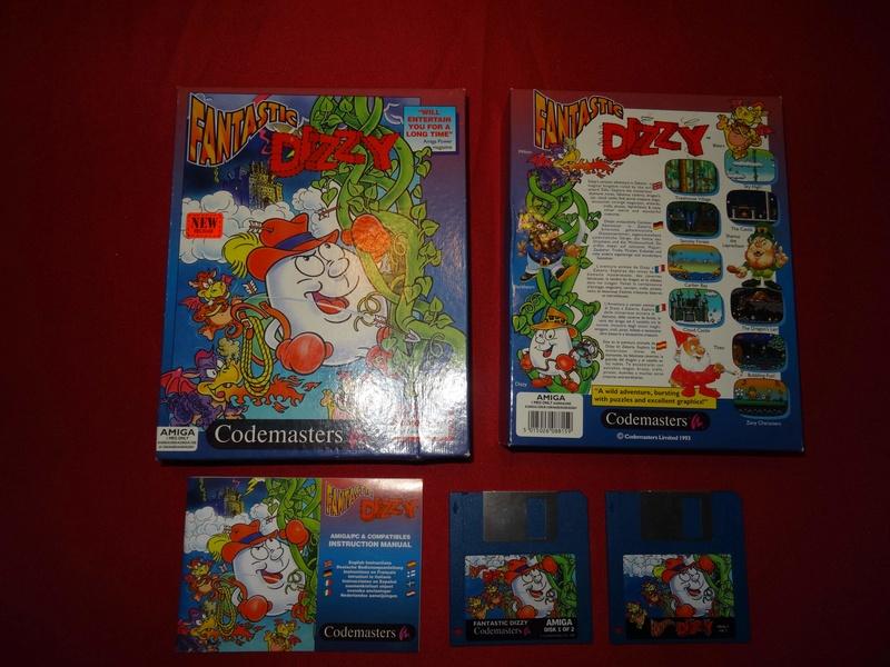 [EST] Lot PS1 et 2 jeux Amiga Dizzy10