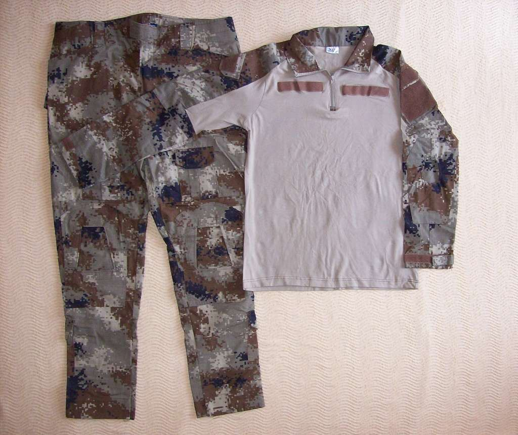 Iraqi Special Operations Forces Camo Uniforms 100_0610
