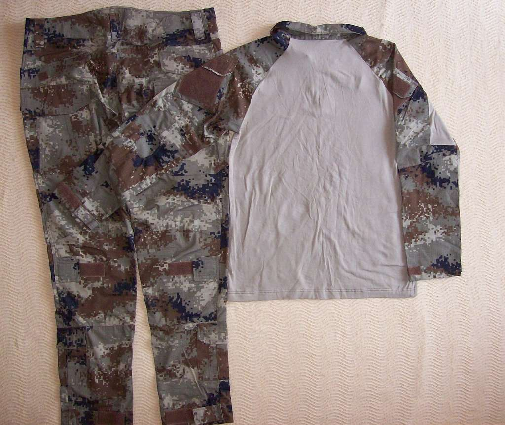 Iraqi Special Operations Forces Camo Uniforms 100_0611