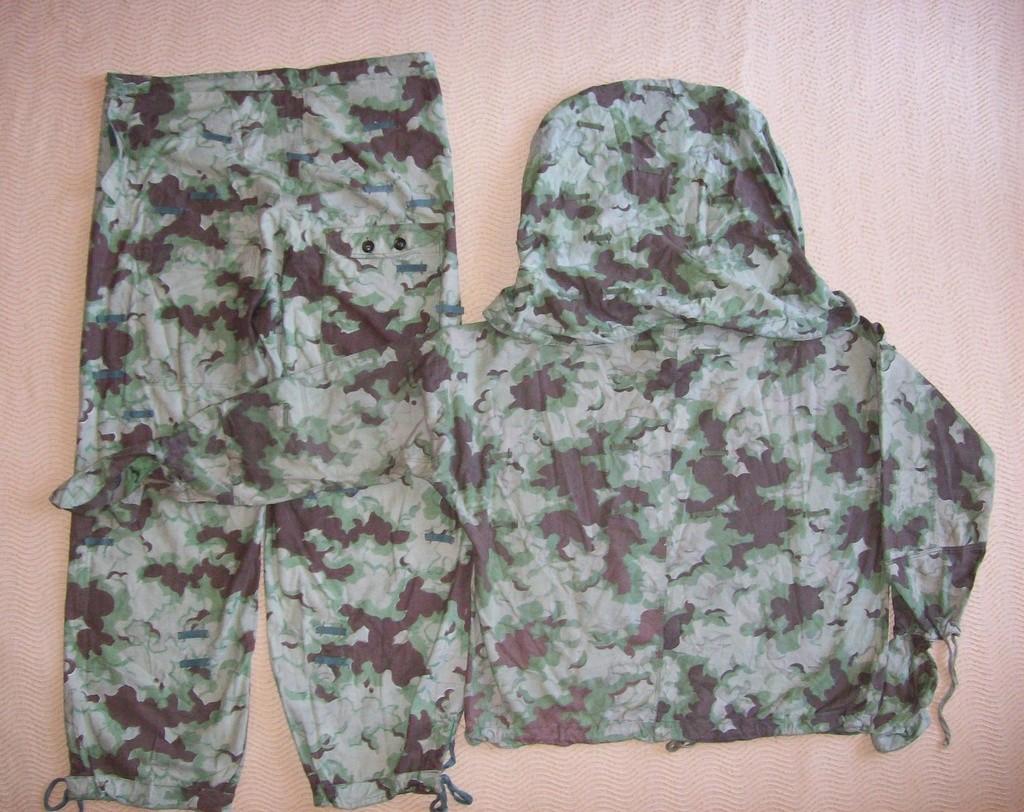 Summer camouflage oversuit with spots - variant 1 - 4 (Letní maskovací oděv se skvrnami - varianta 1 - 4) 100_8111