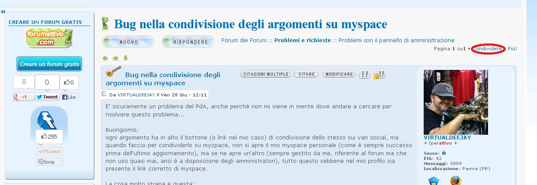 Bug nella condivisione degli argomenti su myspace Condiv10