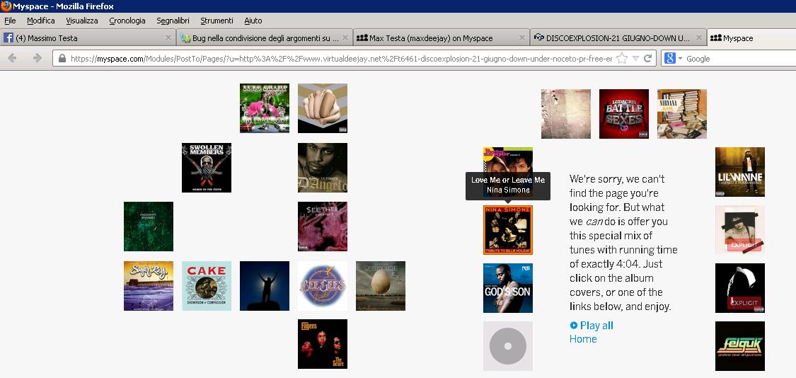 Bug nella condivisione degli argomenti su myspace Condiv14