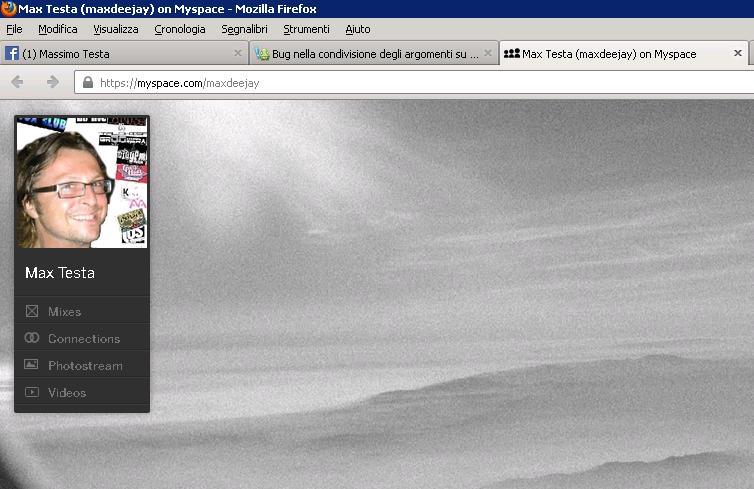 Bug nella condivisione degli argomenti su myspace Myspac10