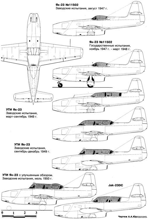 """Yakovlev Yak-23 """"Flora"""" [Special Hobby] Yakovl10"""