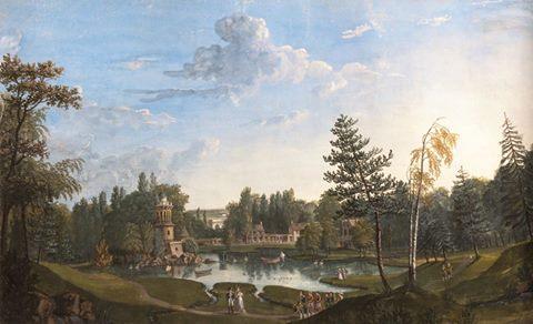 Le Hameau de la Reine, en peinture - Page 2 14915410