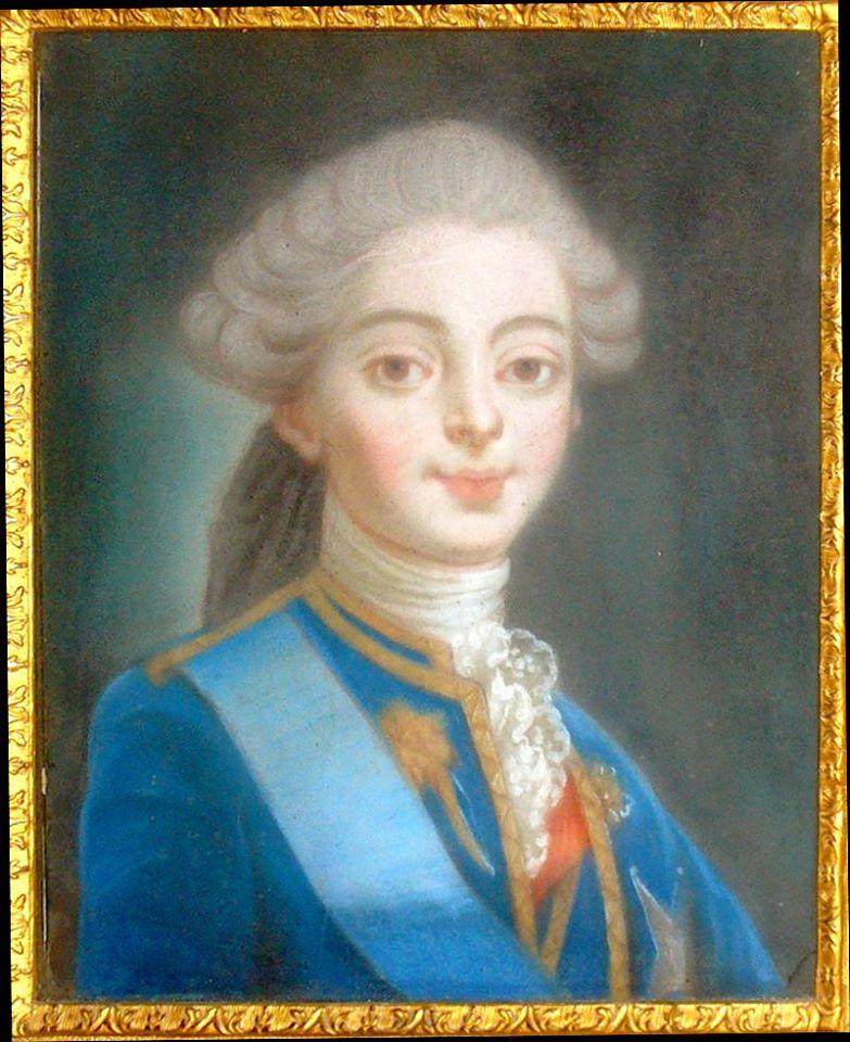 Portraits du comte d'Artois ou du comte de Provence par Van Loo ? 14962610
