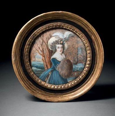 Galerie de portraits : Le manchon au XVIIIe siècle  15337510
