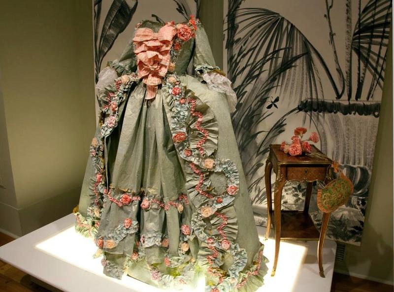 Les costumes de papier d'Isabelle de Borchgrave 15977310