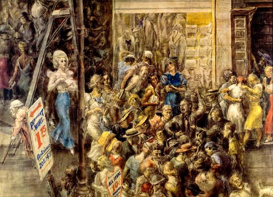La Peinture américaine des années 1930 (musée de l'Orangerie) Marsh110