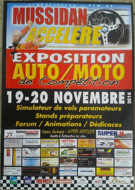 Exposition Auto Moto Mussidan 20161110