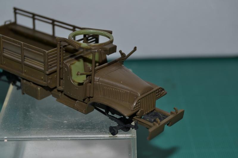 """La 2ème DB """"Jeep - GMC CCKW353 - Sherman M4a2""""  [Heller 1/72] Dsc_0011"""