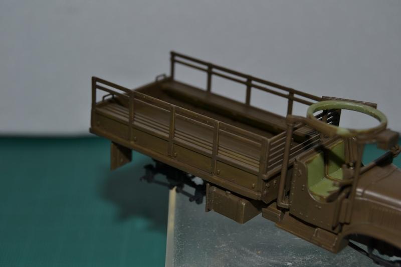 """La 2ème DB """"Jeep - GMC CCKW353 - Sherman M4a2""""  [Heller 1/72] Dsc_0012"""