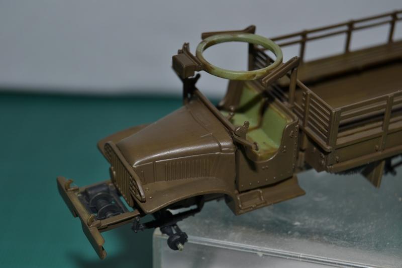 """La 2ème DB """"Jeep - GMC CCKW353 - Sherman M4a2""""  [Heller 1/72] Dsc_0013"""