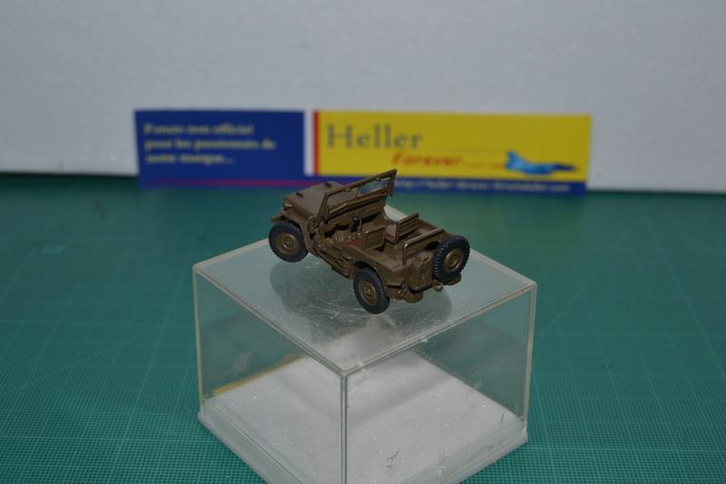 """La 2ème DB """"Jeep - GMC CCKW353 - Sherman M4a2""""  [Heller 1/72] Dsc_0015"""