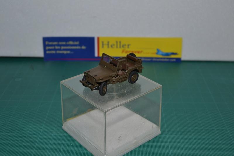 """La 2ème DB """"Jeep - GMC CCKW353 - Sherman M4a2""""  [Heller 1/72] Dsc_0018"""