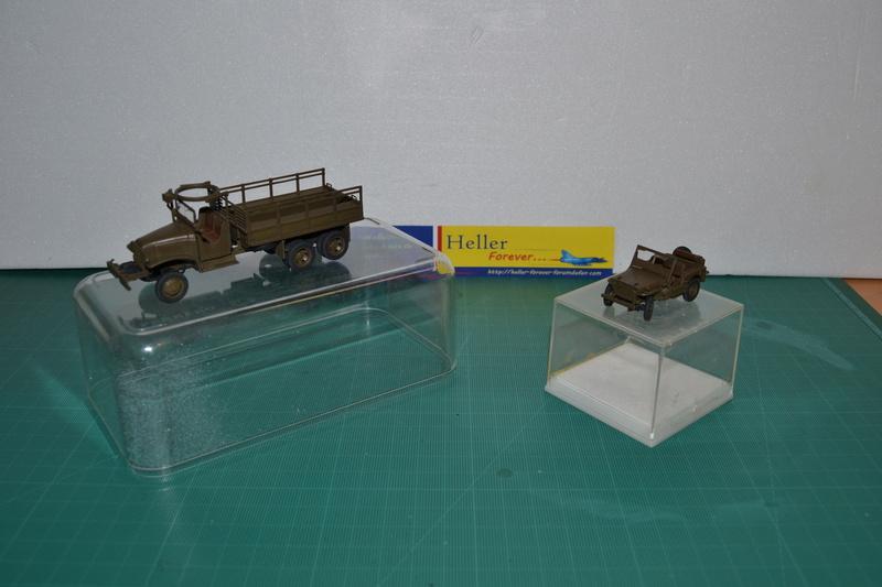"""La 2ème DB """"Jeep - GMC CCKW353 - Sherman M4a2""""  [Heller 1/72] Dsc_0019"""