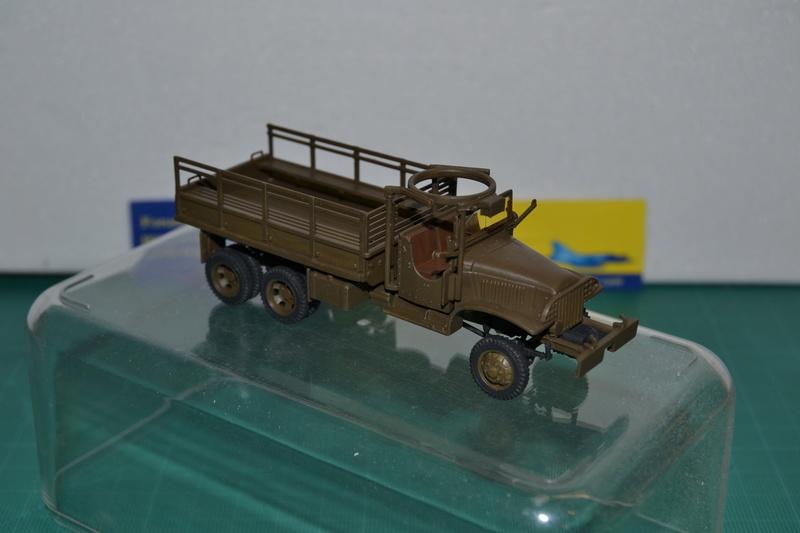 """La 2ème DB """"Jeep - GMC CCKW353 - Sherman M4a2""""  [Heller 1/72] Dsc_0020"""