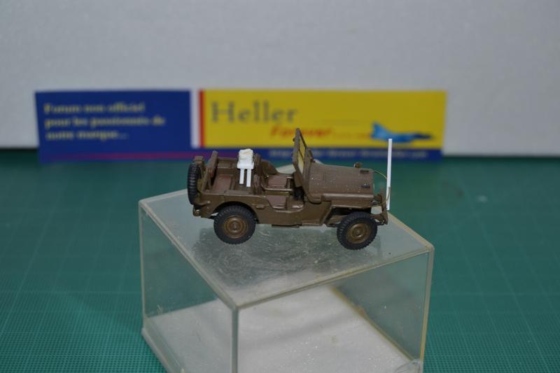 """La 2ème DB """"Jeep - GMC CCKW353 - Sherman M4a2""""  [Heller 1/72] Dsc_0025"""
