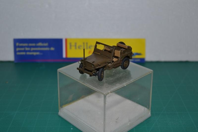 """La 2ème DB """"Jeep - GMC CCKW353 - Sherman M4a2""""  [Heller 1/72] Dsc_0028"""