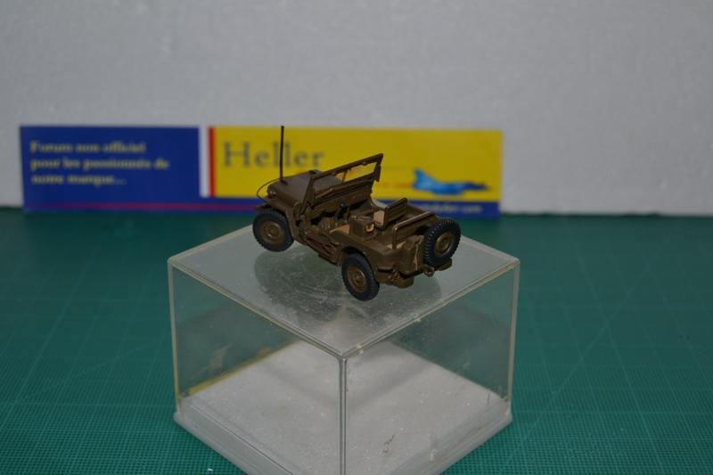 """La 2ème DB """"Jeep - GMC CCKW353 - Sherman M4a2""""  [Heller 1/72] Dsc_0029"""