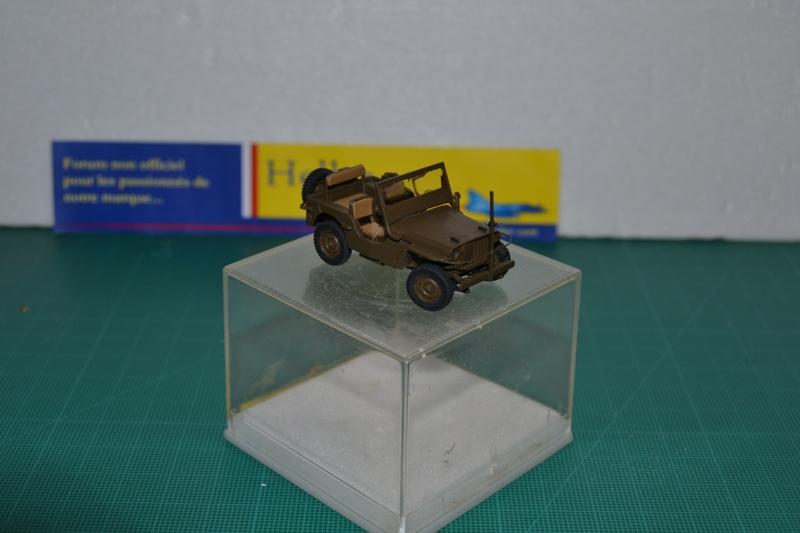 """La 2ème DB """"Jeep - GMC CCKW353 - Sherman M4a2""""  [Heller 1/72] Dsc_0030"""