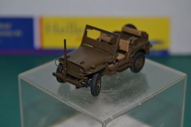 """La 2ème DB """"Jeep - GMC CCKW353 - Sherman M4a2""""  [Heller 1/72] Dsc_0033"""