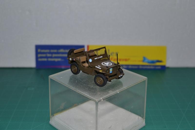 """La 2ème DB """"Jeep - GMC CCKW353 - Sherman M4a2""""  [Heller 1/72] Dsc_0036"""