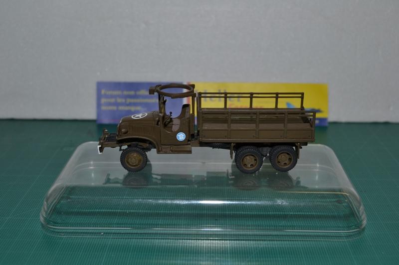 "La 2ème DB ""Jeep - GMC CCKW353 - Sherman M4a2""  [Heller 1/72] - Page 2 Dsc_0043"