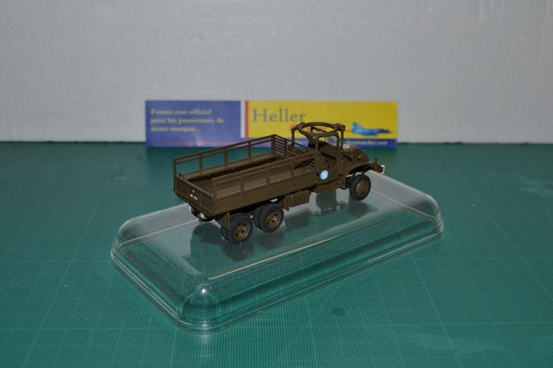 "La 2ème DB ""Jeep - GMC CCKW353 - Sherman M4a2""  [Heller 1/72] - Page 2 Dsc_0045"