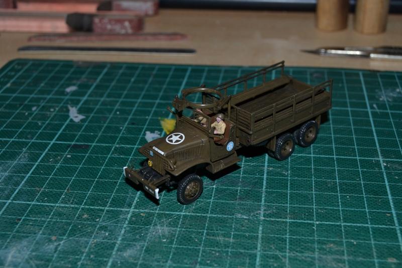 "La 2ème DB ""Jeep - GMC CCKW353 - Sherman M4a2""  [Heller 1/72] - Page 3 Dsc_0195"