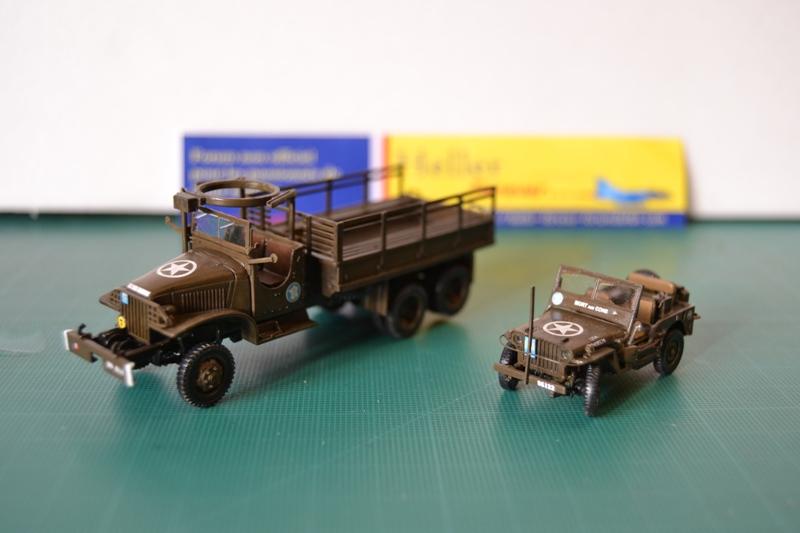"La 2ème DB ""Jeep - GMC CCKW353 - Sherman M4a2""  [Heller 1/72] - Page 3 Dsc_0203"